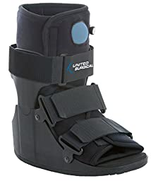 United Surgical Short Air Cam Walker Fracture Boot , Medium
