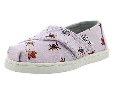 TOMS Lavn Loafer Girl's Shoes Size