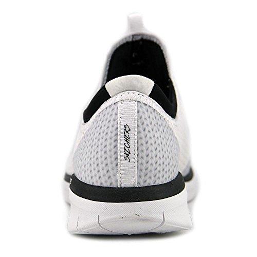 Skechers Frauen Synergy 2.0-Spiegelbild Mode Sneaker Weiß schwarz