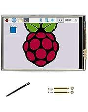 3,5 tums C LCD pekskärm 480 * 320 TFT-skärm 125MHz höghastighets-SPI för alla revisioner av Raspberry pi