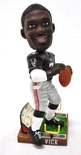 Atlanta Falcons Michael Vick Official NFL #7 stadium base action Bobble Head