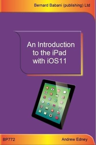 An Introduction to the iPad with iOS11 pdf epub
