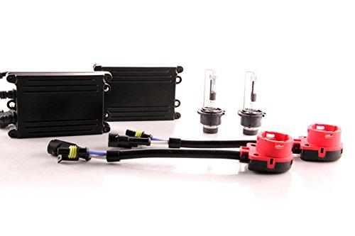 DDM Tuning 55W AC HID Conversion Slim Kit, Slim Digital Ballasts, D2R, 3000K ()