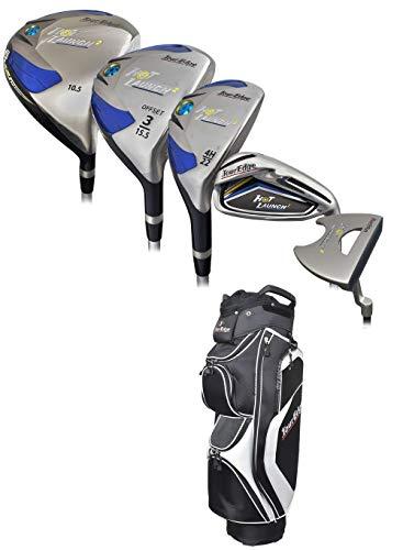 Tour Edge Golf- Hot Launch 2 Complete Set W/Bag Graphite Senior Flex