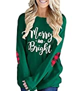 Unidear Womens Casual Loose Shirts Long Sleeve Blouses Tunic Tops