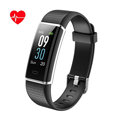Kalinco Fitness Tracker, Color Screen Customized Activity Tracker with Heart Rate, Sleep Monitor,Calories Counter, IP68 Waterproof, Steps Pedometer for Kids, Women and Men. – DiZiSports Store
