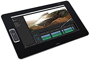 Wacom Cintiq 27QHD Touch - Tableta grafica, alámbrico, USB, color negro