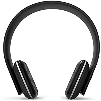846d0103a54 Leme EB20A Wireless Ergonomic Bluetooth 4.0 Over Ear Headphone with  Built-in Mic and 12
