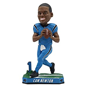 Cam Newton Carolina Panthers Special Edition Color Rush Bobblehead