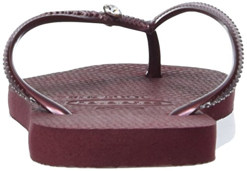 Havaianas Tongs Femme Slim Crystal Glamour SW Violet (Grape Wine 4924)