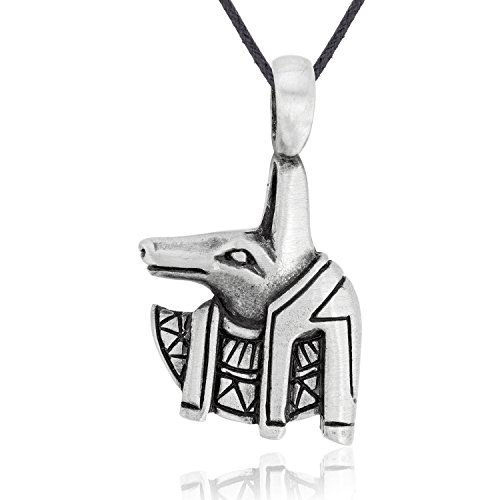 Pewter Fashion Jewelry - Dan's Jewelers Egyptian Anubis Necklace Pendant, Fine Pewter Jewelry
