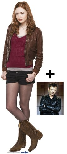 """FAN PACK - AMELIA / AMY POND (Karen Gillan)LIFESIZE CARDBOARD CUTOUT / STANDEE / STANDUP - BBC Doctor Who / Dr Who / Dr. Who - INCLUDES 8x10"""" (25x20cm) STAR PHOTO - FAN PACK #132"""
