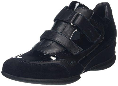 Schwarz Femme A Baskets D Basses Geox blackc9997 Persefone qBxvgYBT
