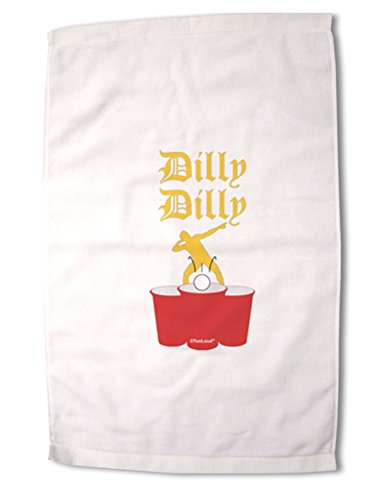 TooLoud Dilly Dilly Funny Beer Premium Cotton Sport Towel 16''x25''