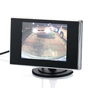 3 5 Inch Small TFT LCD Adjustable Monitor for Security CCTV Camera and car  DVR