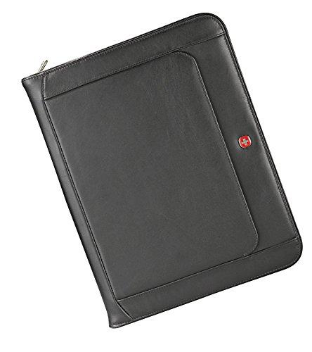 Wenger Executive Leather Zippered Padfolio