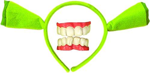 [Rubies ShrekEars & Teeth, One Size] (Fiona Adult Costumes)