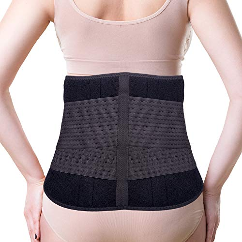 Thx4 Copper Compression Lower Back Brace, Waist Support Belt-Fast Pain Relief, Posture, Spine Straight - Adjustable Lumbar Wrap for Exercise, Sciatica, Spasms, Herniated or Slipped Disc (Men/Women) (Best Exercise For A Slipped Disc)
