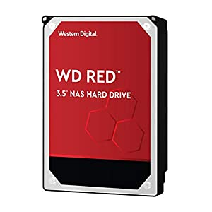 "WD Red 10TB NAS Internal Hard Drive - 5400 RPM Class, SATA 6 Gb/s, CMR, 256 MB Cache, 3.5"" - WD101EFAX 41bWLXFfitL. SS300"