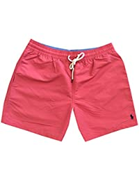 Mens Printed Swim Shorts Beach Trunks with Strings