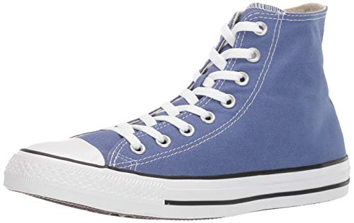 Womens High Top - Converse Unisex Chuck Taylor All Star Seasonal 2019 High Top Sneaker, Washed Indigo, 3.5 M US