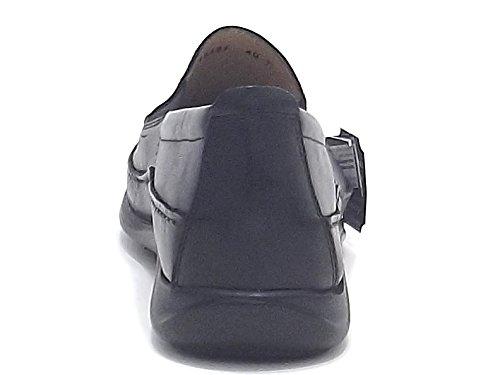 Soldini Men's Loafer Flats Black Nero BvNN0rSG7W