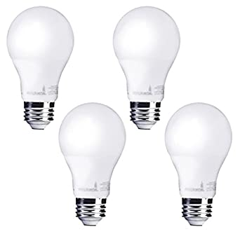 bioluz LED 100 W Luz LED regulable bombillas, A19 bombilla LED 1600 lúmenes - 4 unidades: Amazon.es: Iluminación