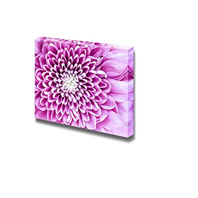 Unbelievable Portrait, Original Creation, Macro Detail of Beautiful Colorful Blooming Chrysantemum Flower Wall Decor