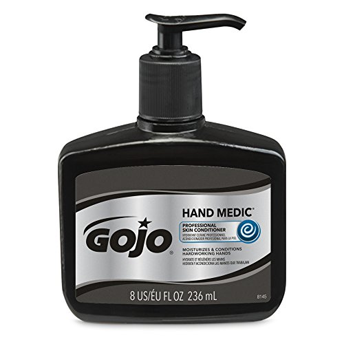 GOJO 8 Fluid-Ounce Bottle White Opaque Hand ()