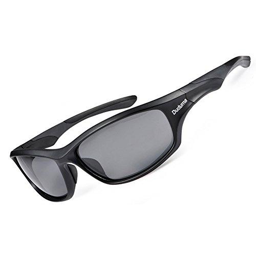 Duduma Polarisierter Sport Herren Sonnenbrille für Skifahren Golf Laufen Radsport Tr636 Superleichtes Rahmendesign für Herren und Damen