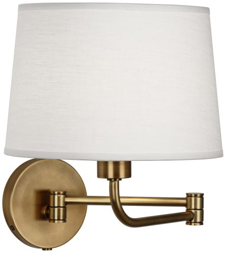 Koleman 1 Light Wall Sconce Finish: Aged Natural Brass (Aged Brass Swing Arm Lamp)