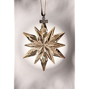 Scs christmas ornament 2011 in gold home kitchen for Decor star 005 ss