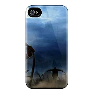 New Arrival Case Cover With VdBFlvd4378MJdsq Design For Apple Iphone 5/5S Case Cover - A Frightful Halloween