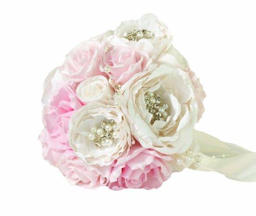 Lillian Rose Vintage Blush Wedding (Celebrations Bouquet Flowers)