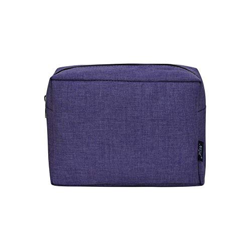 NGIL Large Travel Cosmetic Pouch Bag Spring 2018 Collection (Crosshatch Purple)