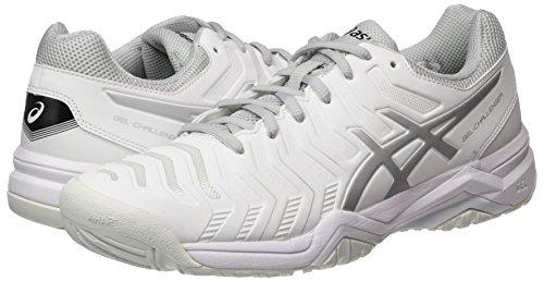 0193 Gel Femmes blanches Pour challenger Argentes Blanches 11 Tennis Asics De Chaussures qPtCwHBP