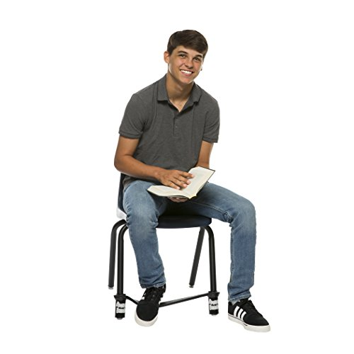 Bouncy Bands for MS and HS Chairs (Black) by Bouncy Bands