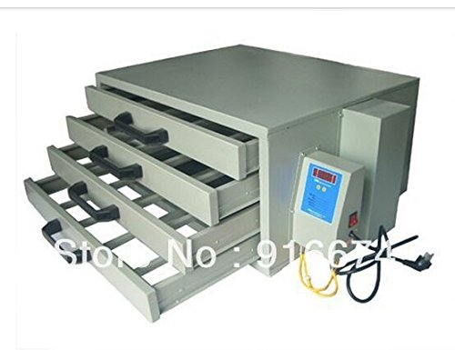(Silk Screen Printing Drying Cabinet Screen Dry Emulsion Dryer Equipment Machine)