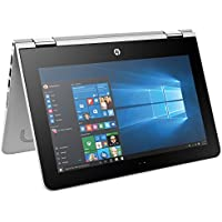 HP Pavilion X360 Premium Flagship 11.6 HD TouchScreen 2-in-1 Convertible Laptop, Intel N3710 up to 2.56GHz, 4GB DDR3, 500GB HDD, 802.11ac, Bluetooth, HDMI, Webcam, Windows 10 (Certified Refurbished)