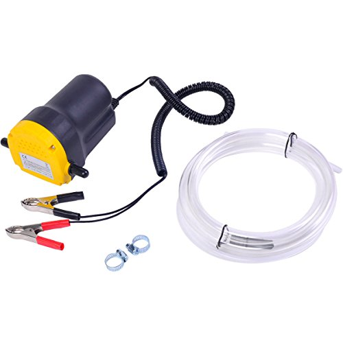 12V 5A Oil/Diesel Fluid Extractor Electric Transfer Pump For Car/Motorbike by SNC (Image #1)
