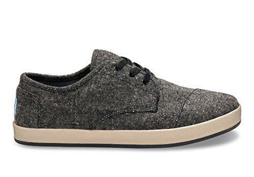 TOMS Men's Paseo Charcoal Fleck Sneaker 8 D (M)