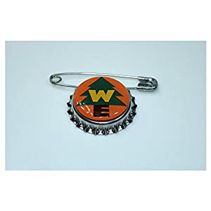 1 Wilderness Explorer Bottle Cap pin Inspired by Disney UP Movie