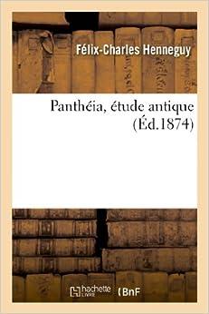Book Pantheia, Etude Antique (Arts)