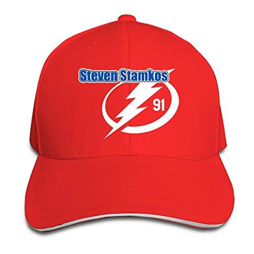 20779c18cc2 Adjustable Baseball Cap Tampa Bay Stamkos Logo Cool Snapback Hats Red