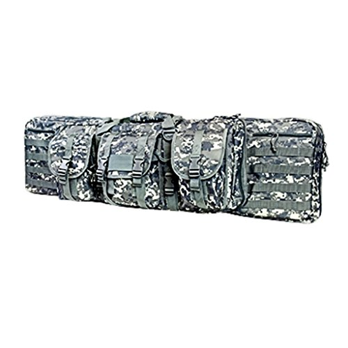 Double Carbine/Rifle/Shotgun Case By NcStar/Vism (ACU Digital Camo, 42) (Camo Rifle Double)