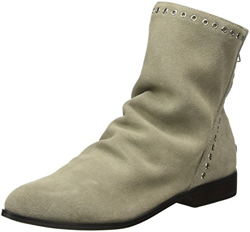Buffalo London 415-1412-1 Cow Suede, Zapatillas de Estar por Casa para Mujer Gris