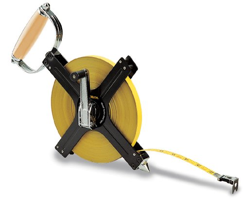 Komelon N6300 300-Feet Open Reel Metal Frame Long Steel Tape Measure ()