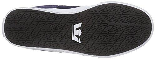 Supra Stacks Vulc II, Sneakers Basses Mixte Adulte Bleu (Navy - White Nvy)