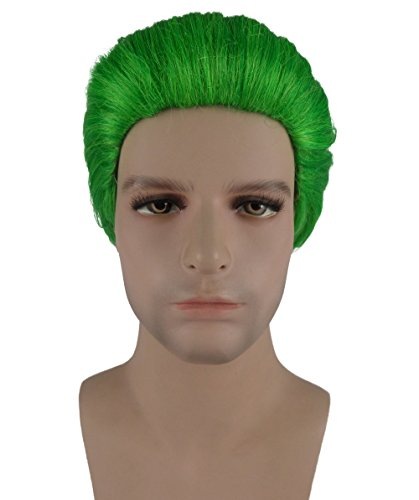 Super Villain Green Costume Wig BAHM-045 (Parade Quality Costume)