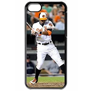 MLB Iphone 5C Black Baltimore Orioles cell phone cases&Gift Holiday&Christmas Gifts NBGH6C9126901